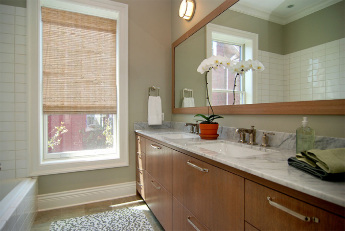 Custom Guest Bathroom in complete Home Renovation