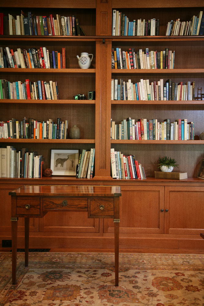 Custom Library bookshelves
