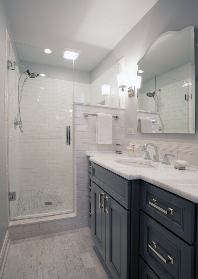 Completely renovated Guest Bath