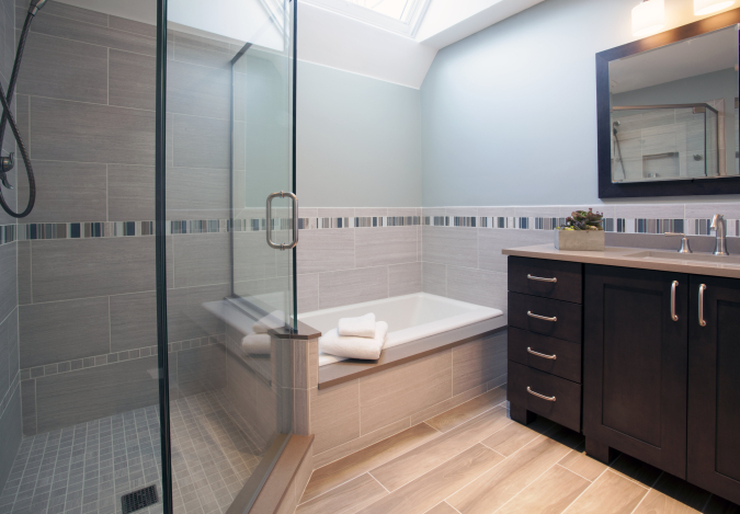 Expanded Master Bath